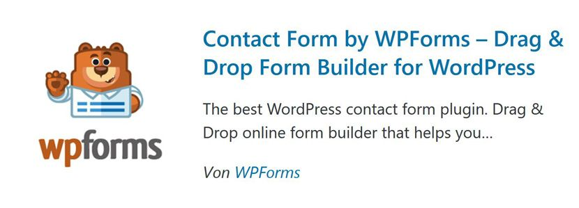 WPForms-Kontaktformular-Plugin-für-WordPress